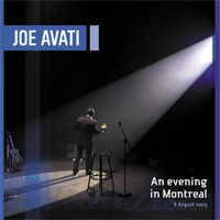 An Evening In Montreal CD by Joe Avati