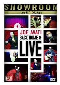 Back Home and Live DVD by Joe Avati